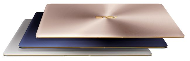ASUS ZenBook 3_UX390_royal blue_rose gold_quartz grey