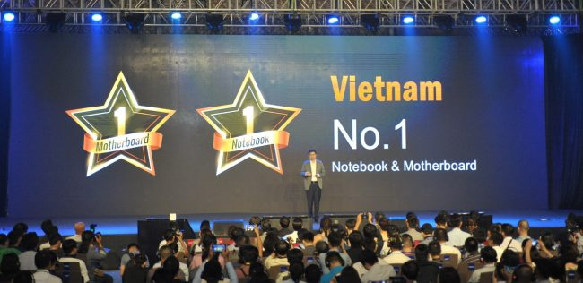 ASUS notebook and motherboard rank No.1 in Vietnam_resize
