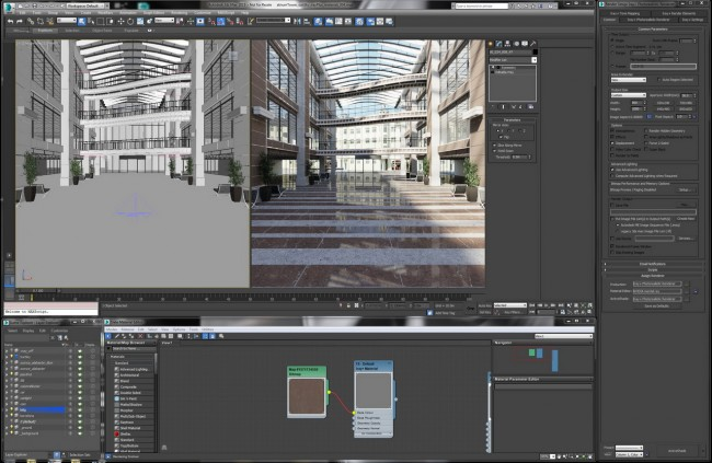 Iray for 3dsMax_workspace_resize
