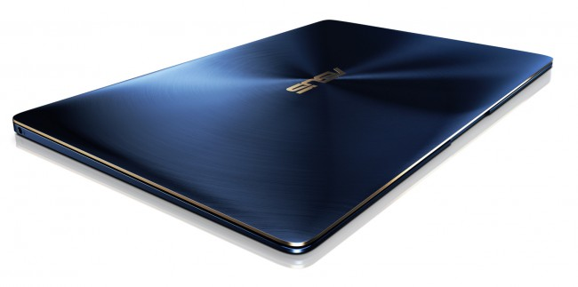 ASUS ZenBook 3_UX390_ultra thin and light design with only 910g